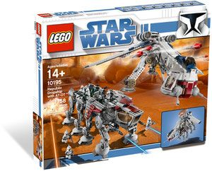 Klocki LEGO Star Wars 10195 - Republic Dropship with AT-OT Walker