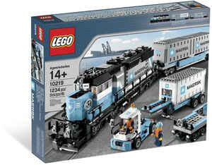 Klocki LEGO Advanced Models - Maersk Train 10219