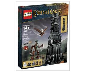 Klocki LEGO Władca Pierścieni - The Tower Of Orthanc 10237