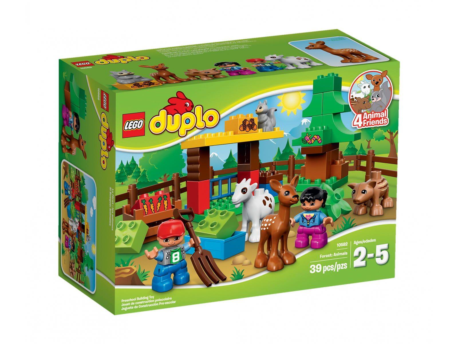 LEGO Duplo 10582 Leśne zwierzęta