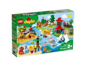 Lego 10907 Duplo Zwierzęta świata Porównaj Ceny