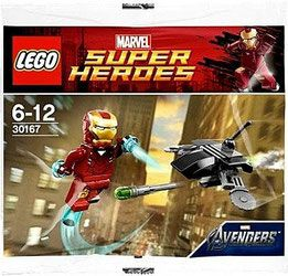 Klocki LEGO Marvel Super Heroes 30167 - Iron Man vs. Fighting Drone
