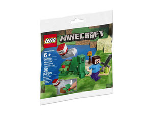 LEGO Minecraft 30393 - Steve and Creeper Set