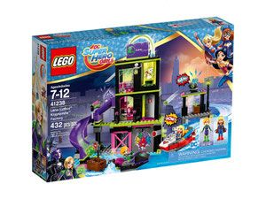 LEGO DC Super Hero Girls 41238 - Fabryka Kryptomitu Leny Luthor