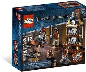 Lego 4191 Pirates Of The Caribbean Captains Cabin Porównaj Ceny