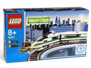 Lego 4511 City Szybki Pociąg Porównaj Ceny