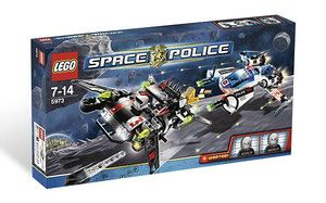 Klocki LEGO Space Police - Hyperspeed Pursuit 5973