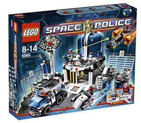 LEGO Space Police 5985 - Space Police Central