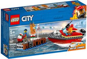 Lego 60213 City Pożar W Dokach Porównaj Ceny
