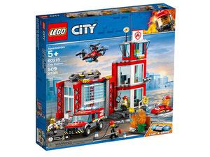 Lego 60215 City Remiza Strażacka Porównaj Ceny