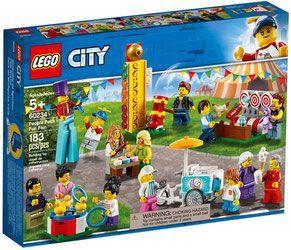 Lego 60234 City Wesołe Miasteczko Zestaw Minifigurek Porównaj Ceny