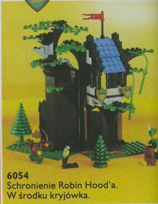 LEGO 6054 Castle Schronienie Robin Hood'a porównaj ceny