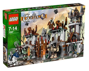 Lego 7097 Castle Górska Forteca Trolli Porównaj Ceny