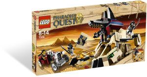 Klocki LEGO Pharaoh's Quest 7326 - Rise of the Sphinx