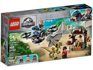 Lego 75934 Jurassic World Dilofozaur Na Wolności Porównaj Ceny