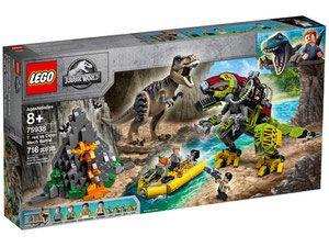 Lego 75938 Jurassic World Tyranozaur Kontra Mechaniczny Dinozaur