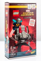 Klocki LEGO Super Heroes - Ant-Man and the Wasp 75997