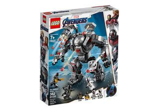 Klocki LEGO Marvel Super Heroes 76124 - Pogromca War Machine