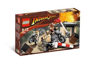 Lego 7620 Indiana Jones Wyścig Motocyklowy Indiana Jones