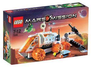 LEGO Mars Mission 7648 - MT-21 Mobile Mining Unit