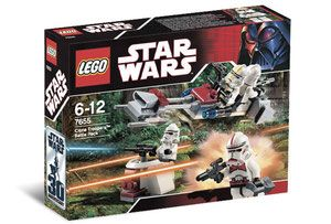 Klocki LEGO Star Wars 7655 - Clone Troopers Battle Pack