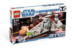 Klocki LEGO Star Wars 7676 - Republic Attack Gunship