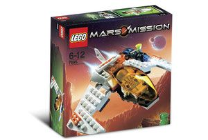 Klocki LEGO Mars Mission - MX-11 Astro Fighter 7695