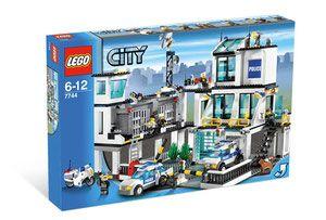 Lego 7744 City Posterunek Policji Porównaj Ceny