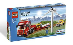 Klocki LEGO City 7747 - Wind Turbine Transport