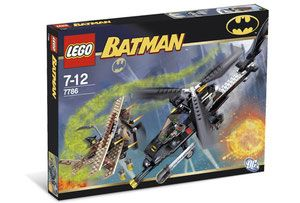 Klocki LEGO Batman 7786 - The Batcopter: The Chase for Scarecrow