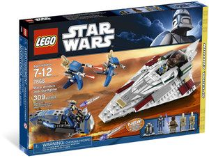 Klocki LEGO Star Wars - Mace Windu's Jedi Starfighter 7868