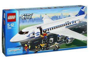 Lego 7893 City Samolot Pasażerski Porównaj Ceny