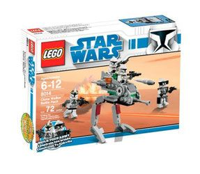 Klocki LEGO Star Wars - Clone Walker Battle Pack 8014