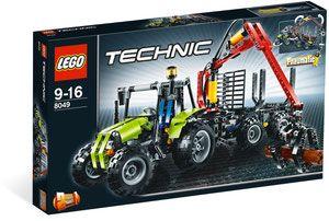 Lego 8049 Technic Traktor Z ładowarką Kłód Porównaj Ceny
