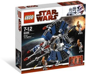 Klocki LEGO Star Wars 8086 - Droid Tri-Fighter