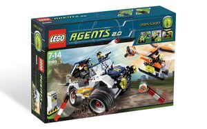 Klocki LEGO Agents 8969 - 4-Wheeling Pursuit