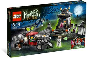 Klocki LEGO Monster Fighters 9465 - The Zombies