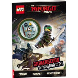 Książka LEGO Ninjago Movie Garmagedon w Ninjago City!